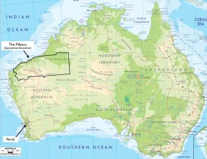 The infamous Pilbara (said Pill-bruh)