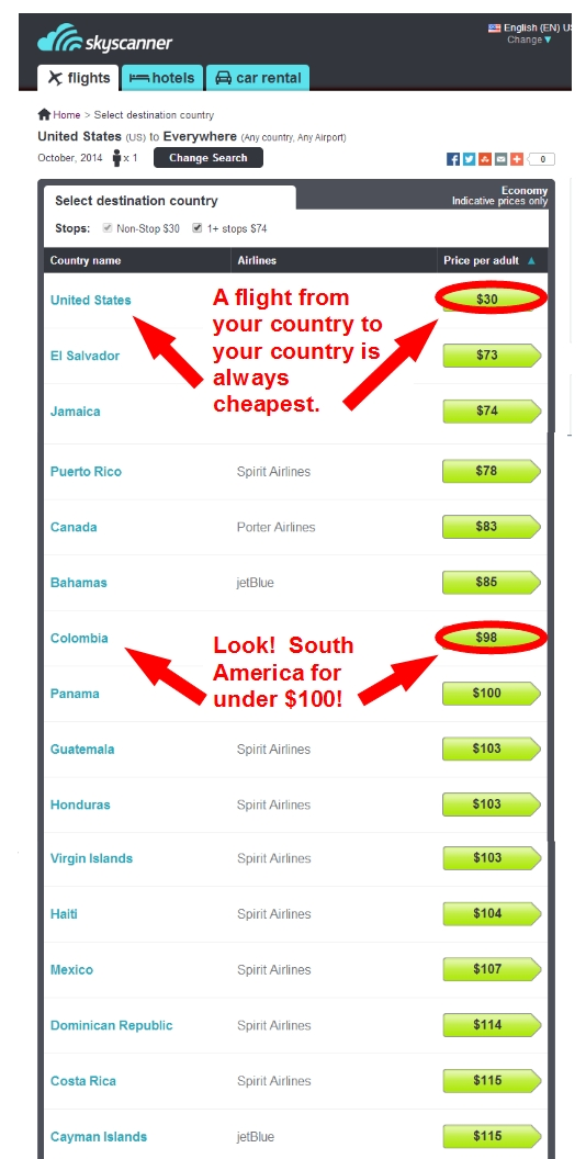 You, too, can discover insanely cheap fares!