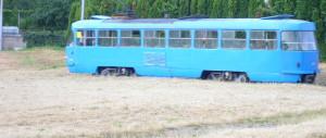 tram car old tram car san francisco croatia