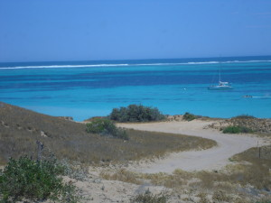 my RTW flight budget was a bit smaller for this trip to the land of gorgeous sea coasts (pictured)