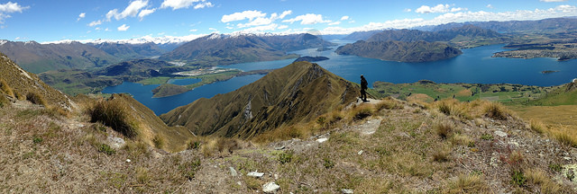 The best travel jobs involve employment in a beautiful place like this Roy's Peak overlooking Wanaka New Zealand