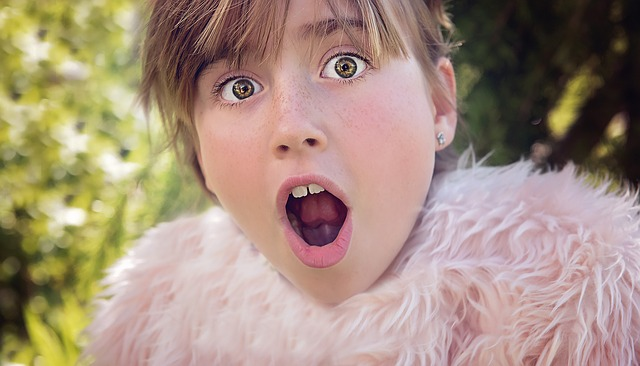 people have been known to make a shocked face like this little girls upon hearing budget travel blogger Jema Patterson's travel mishaps
