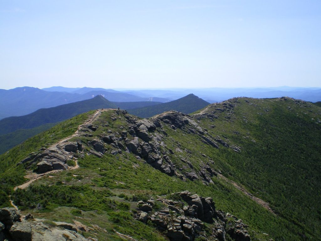 An ankle injury kept top travel blog Half the Clothes' author Jema Patterson from seeing the Franconia Ridge in New Hampshire's White Mountains
