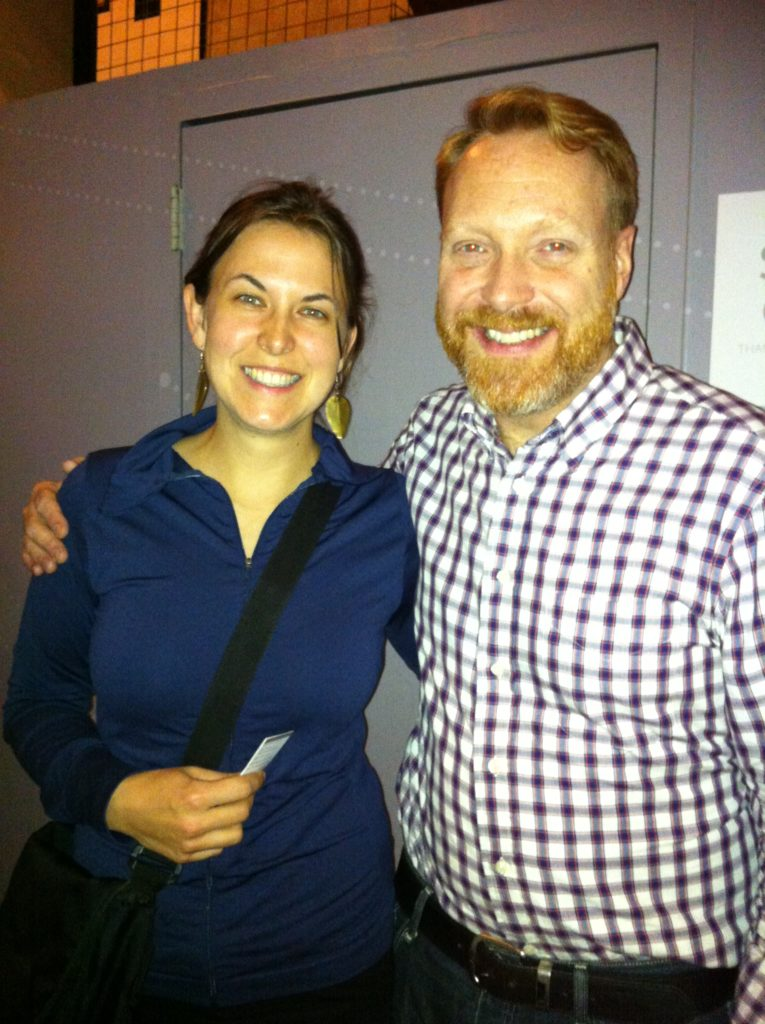 Top Slow travel blog half the clothes' author meets Kevin Allison of Risk!