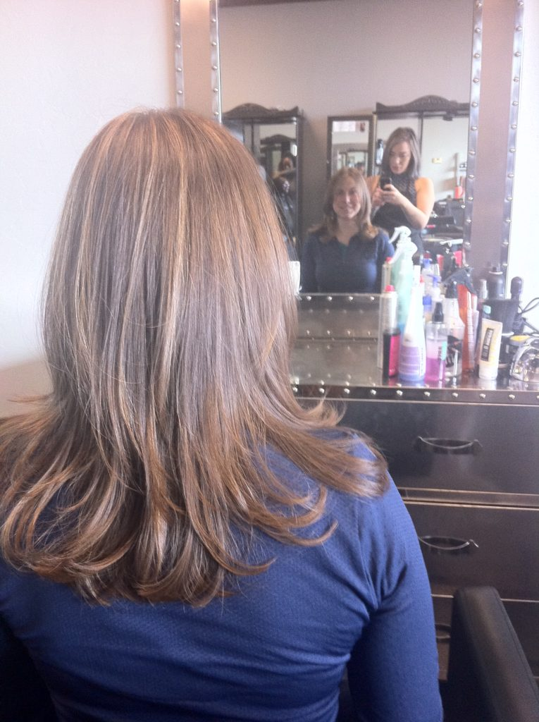 Top slow travel blog Half the Clothes author Jema gets a haircut