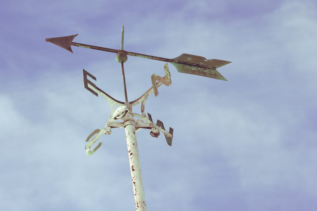 We don't actually need smartphones to tell us weather forecasts. People as if we can live without smartphones and fear doing so would mean going back to primitive living... like predicting the weather using something like this weather vane. The life without smartphone essay proves otherwise!