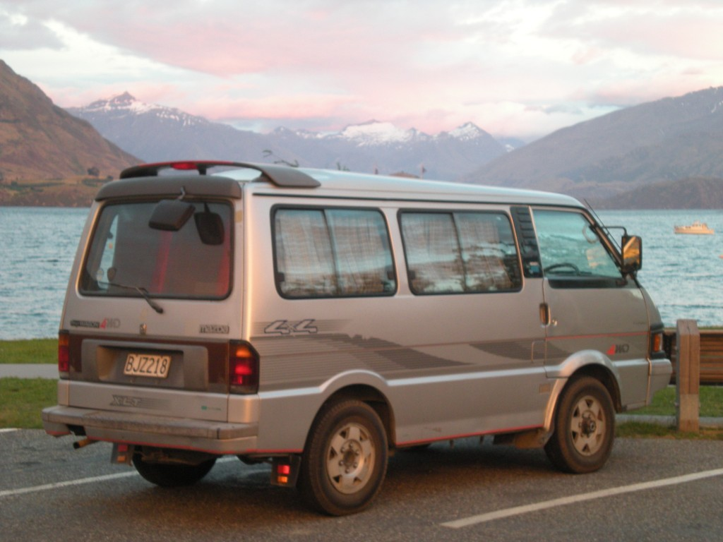 living in a van - a Mazda Bongo hippie van! Hippie van living wasn't easy, but we definitely picked up tips on how to live in a van