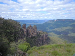 The infamous Three Sisters - I'm off for a hike later this week!