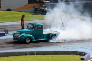 Never too old for a burnout!