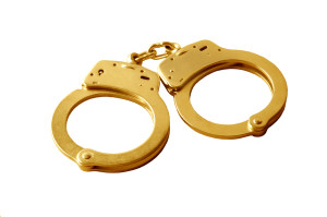 I rocked those golden handcuffs!