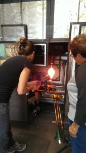 glory hole glassblowing class
