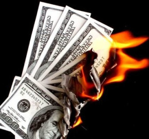 burning money can be a the cost of a rtw ticket