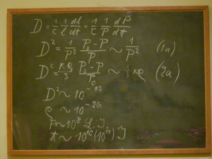 equation on blackboard einstein's - to travel hackers, the cost of a rtw ticket can be worth it