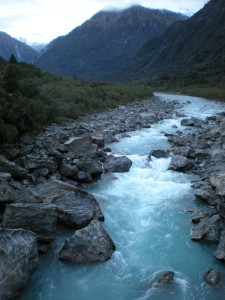 river west coast new zealand - a place we experienced thanks to mastering our RTW flight budget