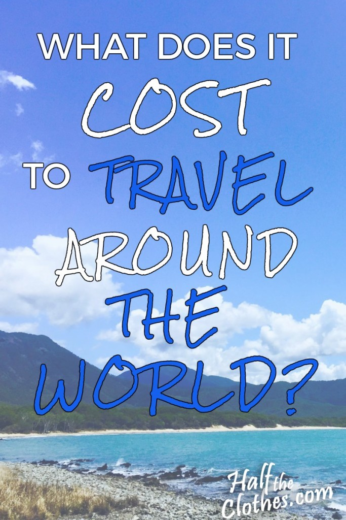 what does it cost to travel around the world