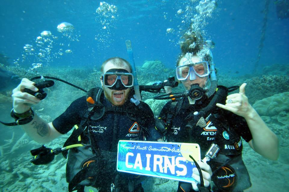 working holiday australia leads to opportunities like scuba diving on the great barrier reef!