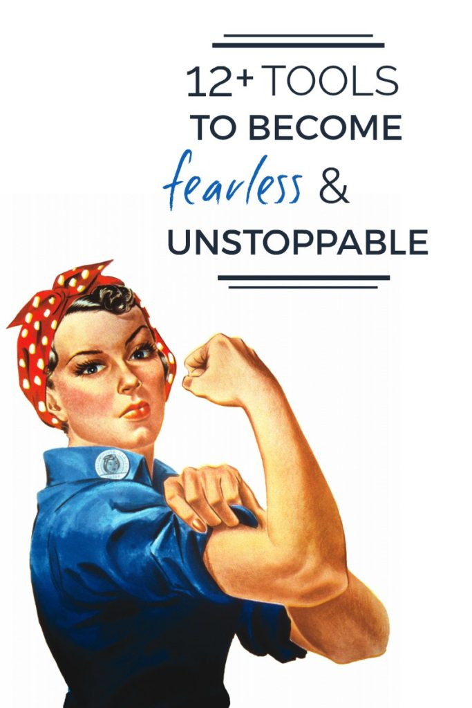 rosie the riveter personal growth blog transformational travel improvement