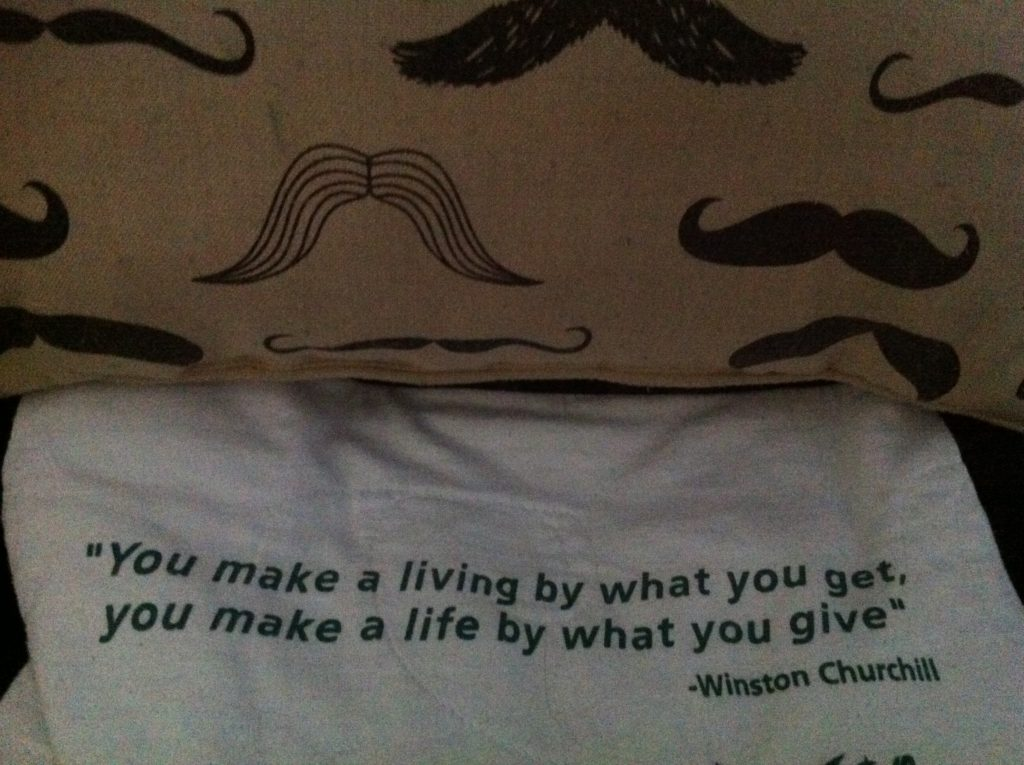Tob slow travel blog half the clothes found a new favorite quote while couchsurfing