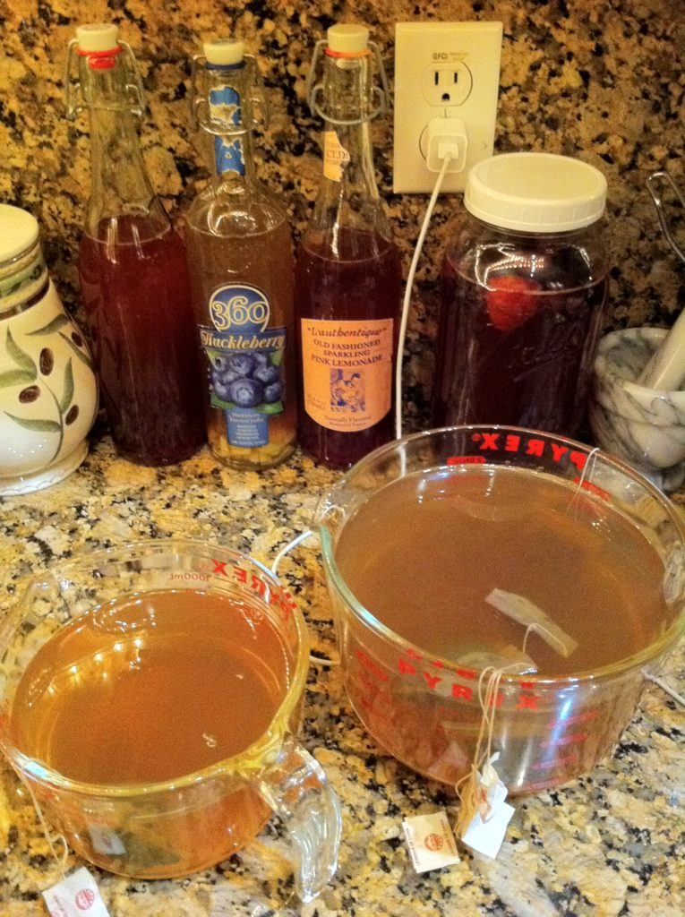 Top slow travel blog Half the Clothes author loves that slow travel lets her have time to try things like making kombucha