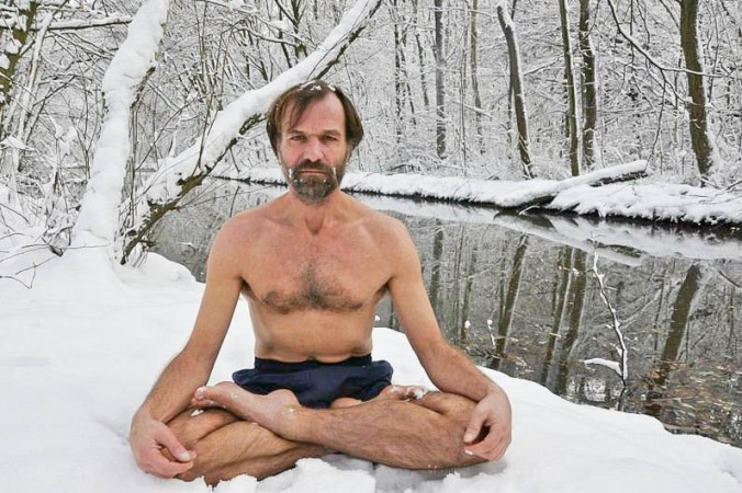 Wim Hof - the Iceman - shares his wim hof training techniques in a wim hof course that explains how to do with wim hof method over a period of ten weeks
