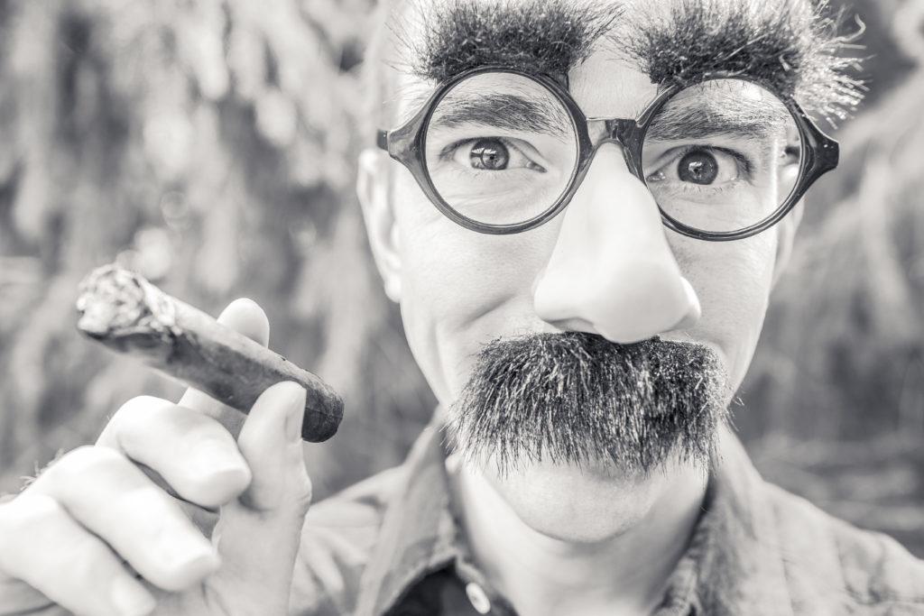 This mustache and cigar man could be really fascinating if you know how to avoid small talk and the number one party conversation topic to get him going. Read on: