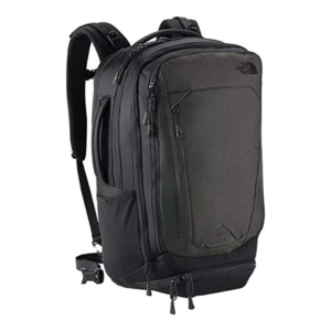 Black North Face Overhaul exterior a lot of pockets and weight distribution straps