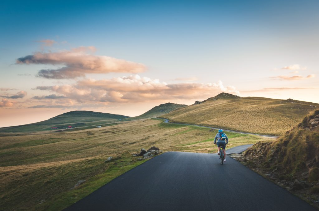 to retire early, you just get on a bike and GO!