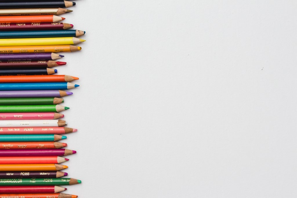 colored pencils were not used to write this retire by 30 blog