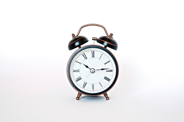 work-life balance tips for employees are needed if you wake up to an alarm like this classic old-fashioned on each day.