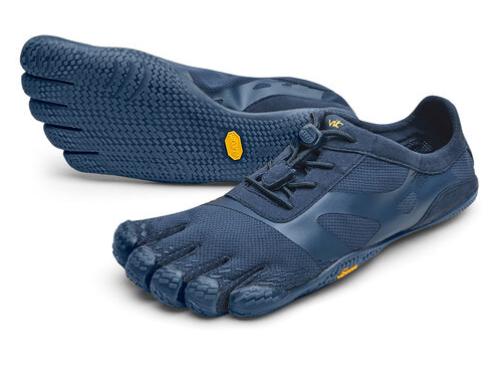 blue vibram fivefingers kso evos are the best barefoot running shoes for me!